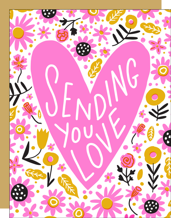 Sending Love Card by HELLO! LUCKY