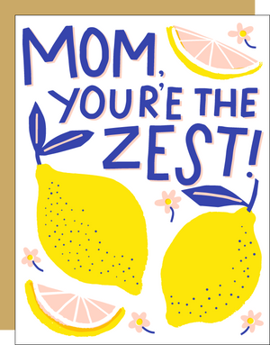 Mom's The Zest Card by HELLO! LUCKY