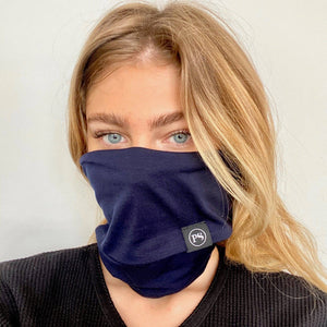 Navy Beanie/Mask by Pretty Simple