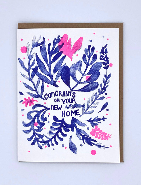 Congratulations on Your New Home by Loteria Press