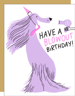Blow Out Birthday Card by HELLO! LUCKY