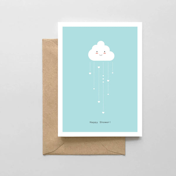 Happy Shower! Card by Spaghetti & Meatballs