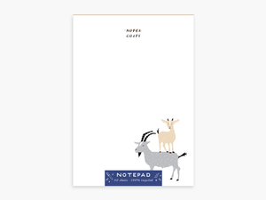 Party of One - Goats Notepad