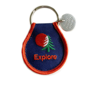 Patch Keychain - Explore by Three Potato Four