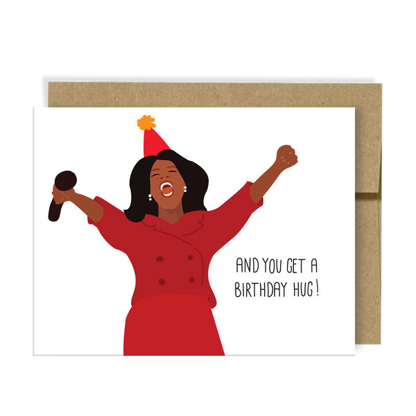 Birthday Hug Card by Neighborly Paper