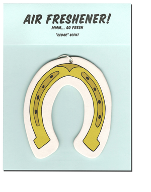 Horseshoe Air Freshener