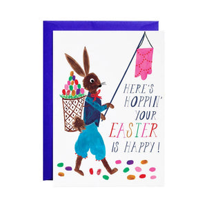 Hoppin Easter Card by Mr. Boddington's Studio