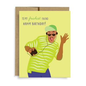 Freshest Friend Card by Neighborly Paper