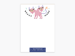 Party of One - Beast Mode Notepad