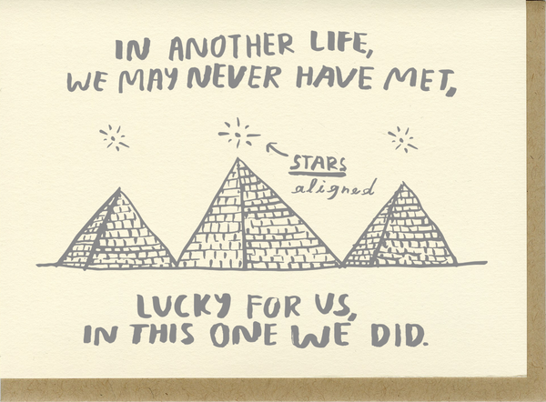 Lucky For Us Card by People I've Loved