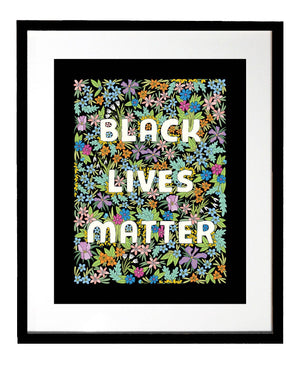 Black Lives Matter Art Print by The Found