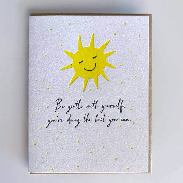 Be Gentle Card by DeLuce Design