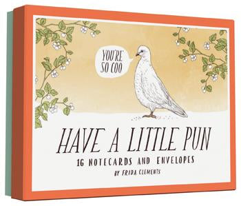 Have a Little Pun Notecards Box
