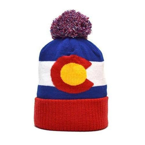 Colorado Flag Beanie by YoColorado