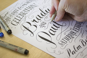 Hand-Lettering for Beginners - July Workshop