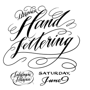 Hand-Lettering for Beginners - June Workshop