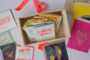 Whoa Awesome Size Card Lovers' Gift Box