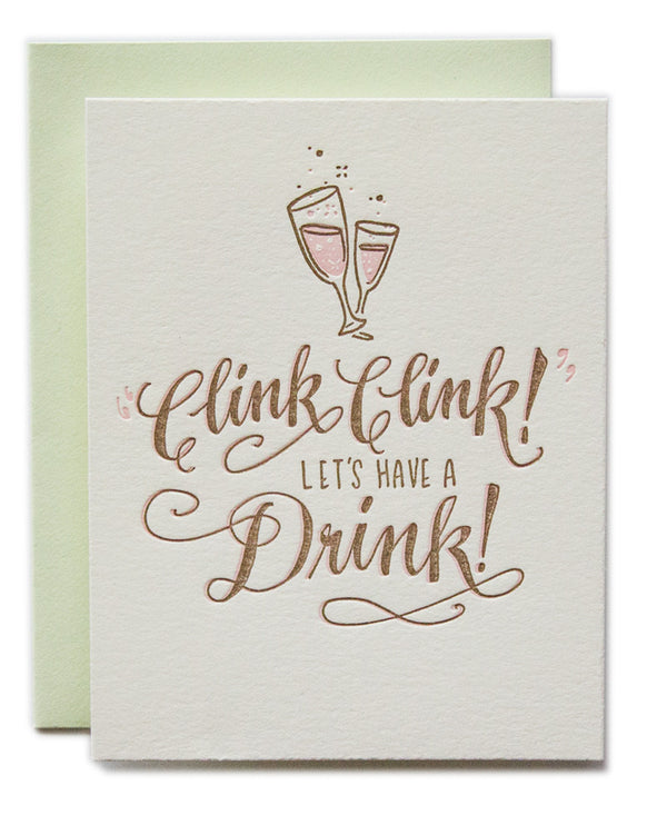 Clink Clink! Let's Have a Drink!