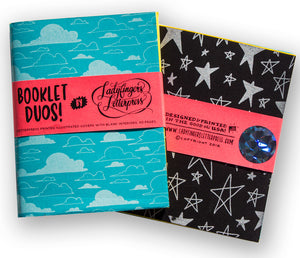 Star & Cloud Booklet Duo