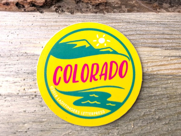Colorado Emblem Sticker