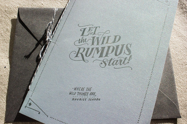 A Marriage Contract for The Cosmos Ladyfingers Letterpress