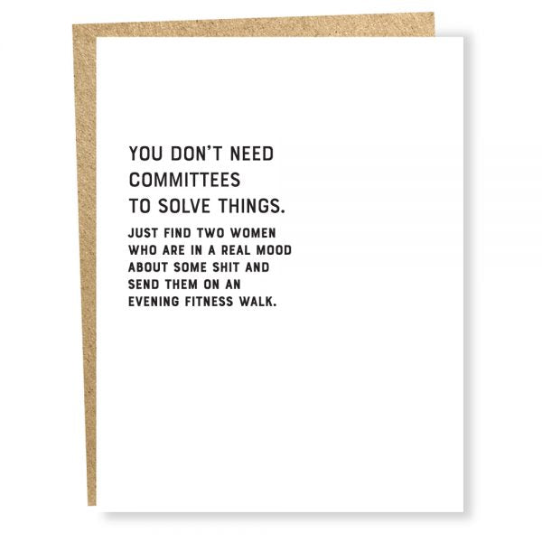 COMMITTEES by Sapling Press
