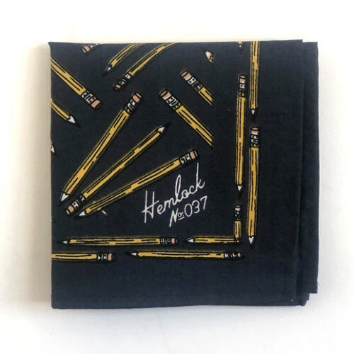 HEMLOCK GOODS BANDANA - Pencils