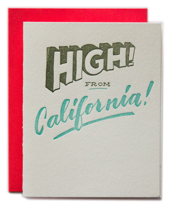 High! from California