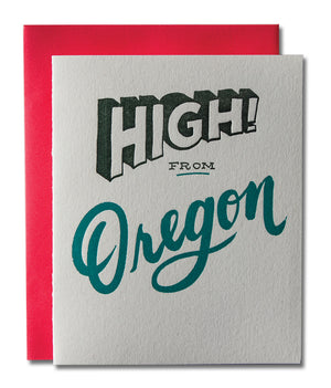 High! from Oregon