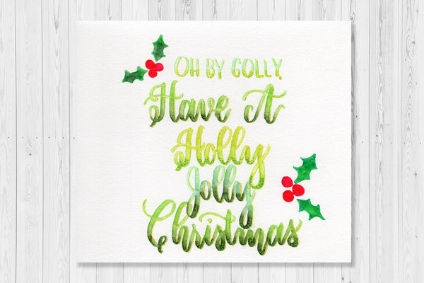 Holiday Brush Lettering - November 2018 Workshop