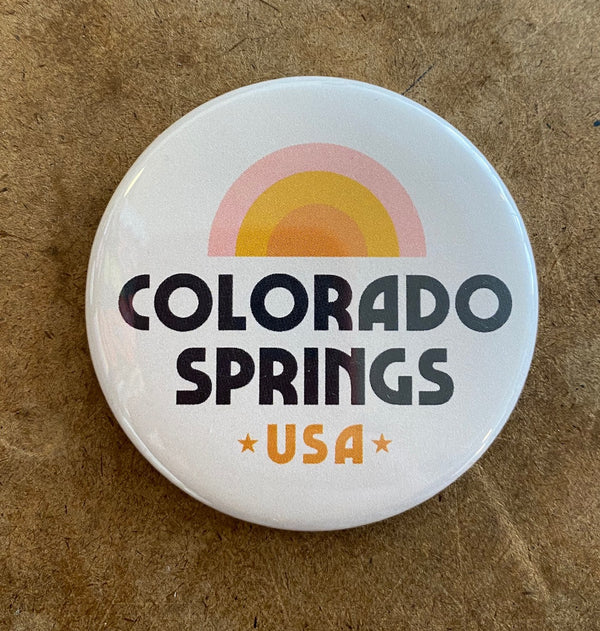 Colorado Springs Rainbow Magnet