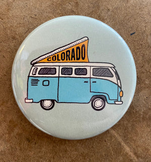 Colorado Bus Magnet