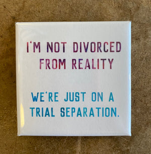 Divorced from Reality Magnet