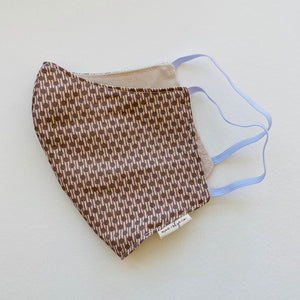 Elastic Ear Face Mask - Dots