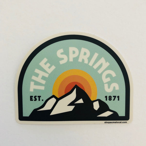The Springs Arch Sticker