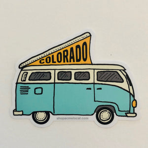 Colorado Bus Sticker