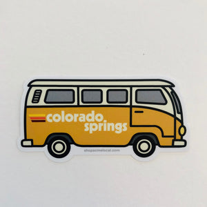 Colorado Springs Bus Sticker