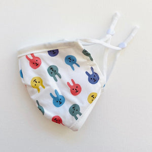 Kids Cotton Face Mask - Bunny