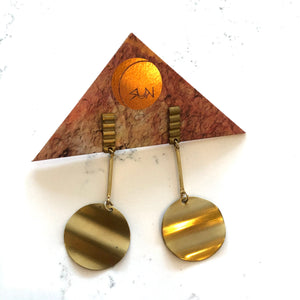 DISK EARRINGS - THE UNIVERSE CONSPIRES