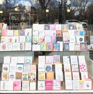 Window Selection Greeting Cards