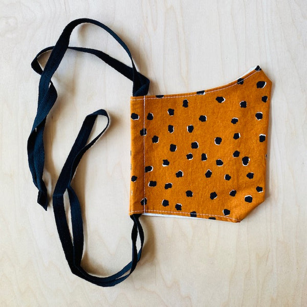 Rust Pebbles Mask by So Gingerly