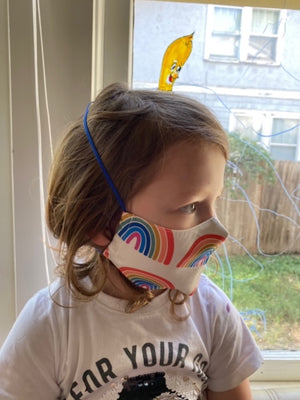 Kids Cotton Mask Camping Gear by So Gingerly