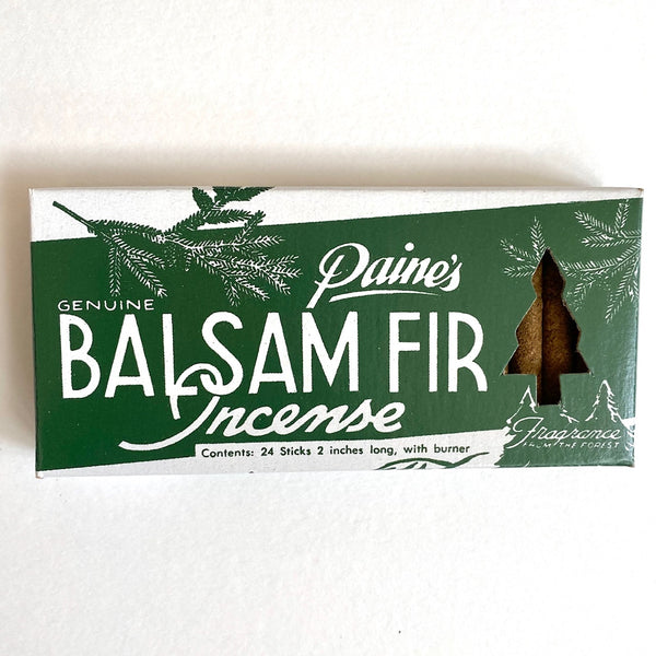 BALSAM STICKS INCENSE & HOLDER