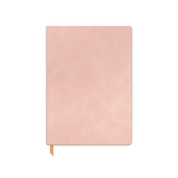 VEGAN SUEDE JOURNAL | DUSTY BLUSH