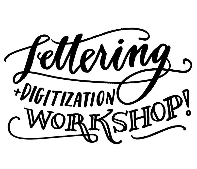 denver lettering and digitization workshop at art makers denver
