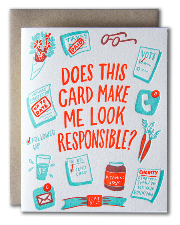 Does This Card Make Me Look Responsible?
