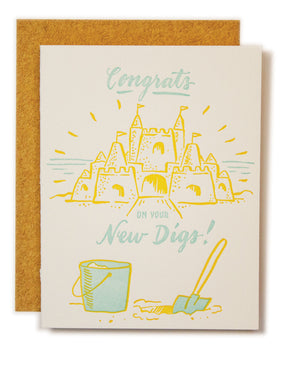 New Digs Card