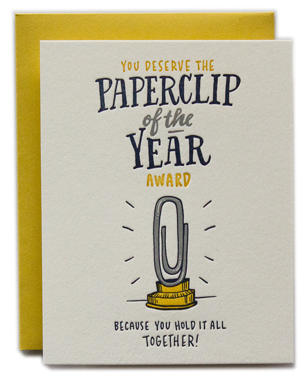 Paperclip Of The Year!