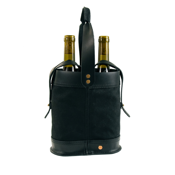 BLACK NAPA DOUBLE WINE TOTE