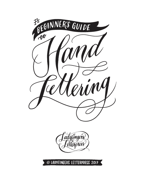 A Beginner's Guide to Hand-Lettering - Booklet Download
